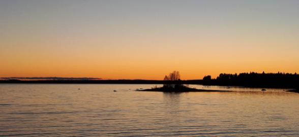 suomussalmi auringonlasku